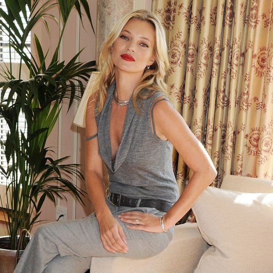 Kate Moss Pictures at a 10-Year Event With Rimmel