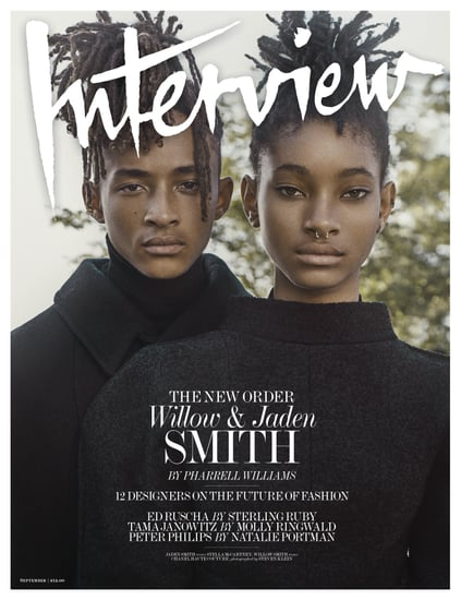 Willow and Jaden Smith in Interview Magazine September 2016