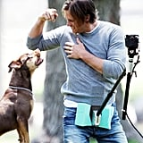 Tom Brady Gets a Haircut, and Down to Work on an Ugg Australia Commercial!