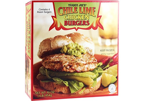Chile Lime Chicken Burgers ($3)