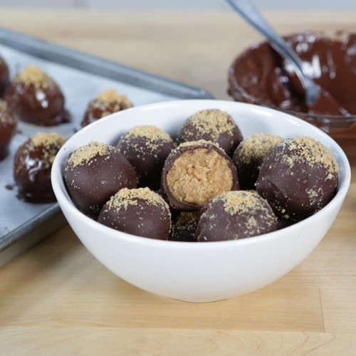 3-Ingredient Nutter Butter Truffles