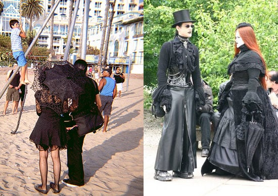 Website du Jour: Goths in Hot Weather