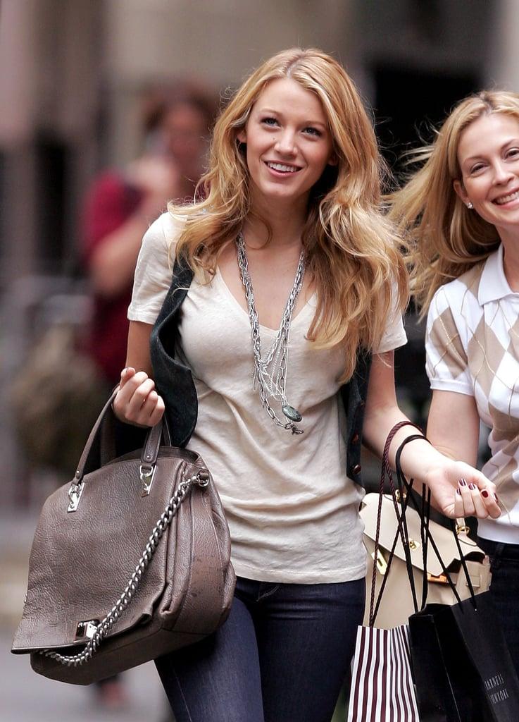 Blake Lively Serena Van Der Woodsen Style In Gossip Girl
