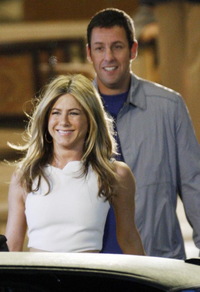 Adam Sandler and Jennifer Aniston Friendship Pictures
