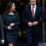 Kate only had eyes for William when they stepped out at a charity event in London in December 2015.