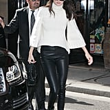 Kendall Showed Off a Very Chic Black-and-White Look on Day Four of PFW