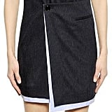 Each x Other Pinstriped Wool and Cotton Dress