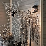 Pottery Barn Shoelace Spider Web
