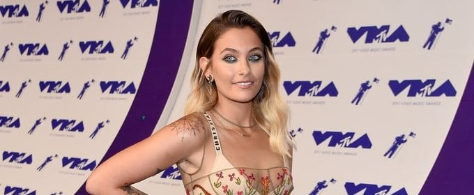 Paris Jackson Wasn't Afraid to Expose It All in a Completely Sheer Dress at the VMAs