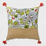 Oversize Square Party Floral Outdoor Pillow