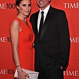 Seth Meyers and Alexi Ashe attended the Time 100 gala in NYC.