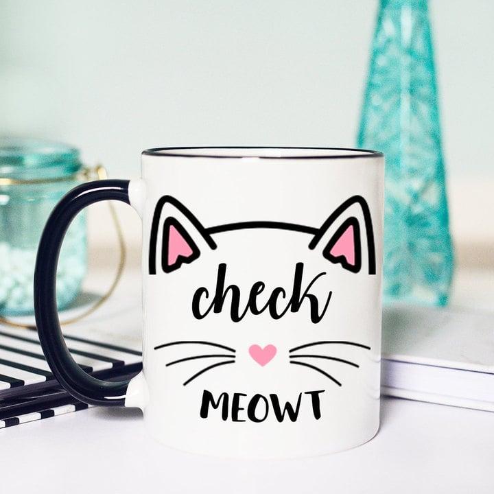 Etsy Cat  Mug