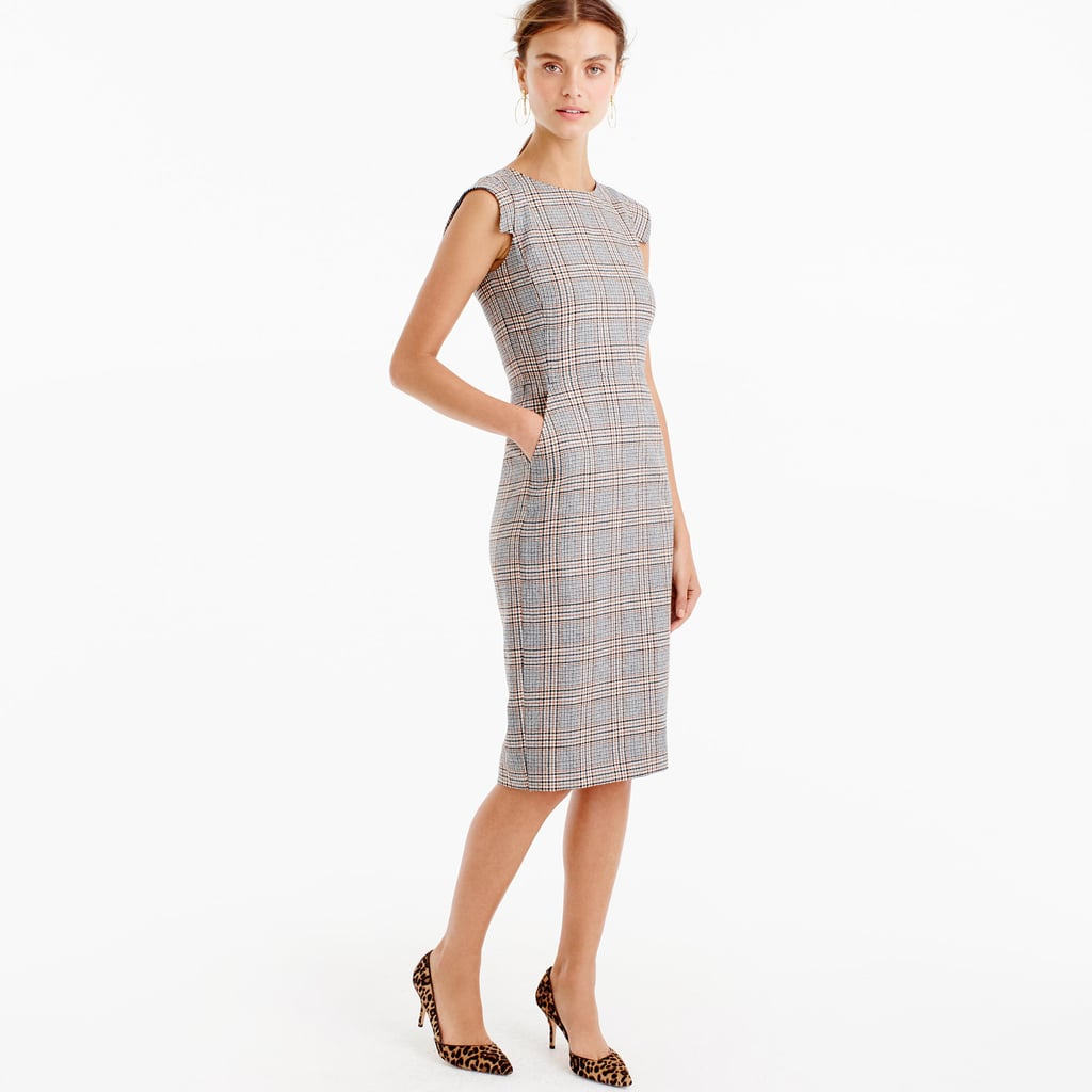 J.Crew Cap Sleeve Dress in Gen Plaid ($148)