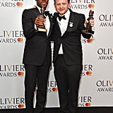 Giles Terera and Michael Jibson