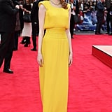 Emma Stone at the London Premiere of The Amazing Spider-Man 2 in 2014