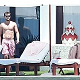 Joshua Jackson and Diane Kruger on Vacation in Cabo 2015