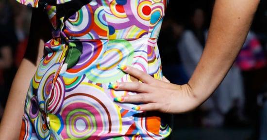 Fashion Week Accidentally Created Lisa Frank Nails