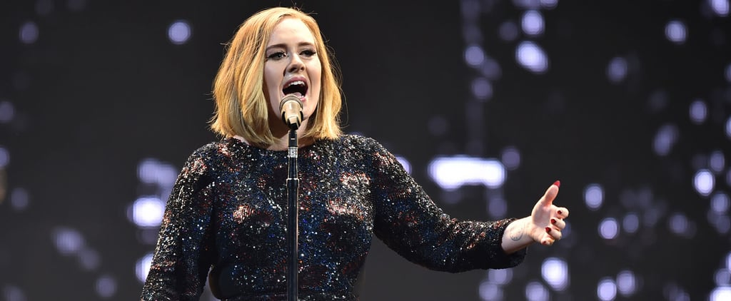 Marriage Proposal During Adele's Concert in Belfast