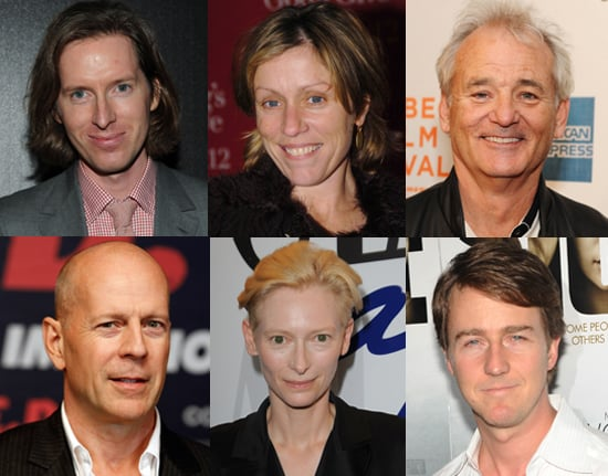Cast For Wes Anderson's Moon Rise Kingdom, Including Bill Murray, Bruce Willis, Frances McDormand, Ed Norton, Tilda Swinton