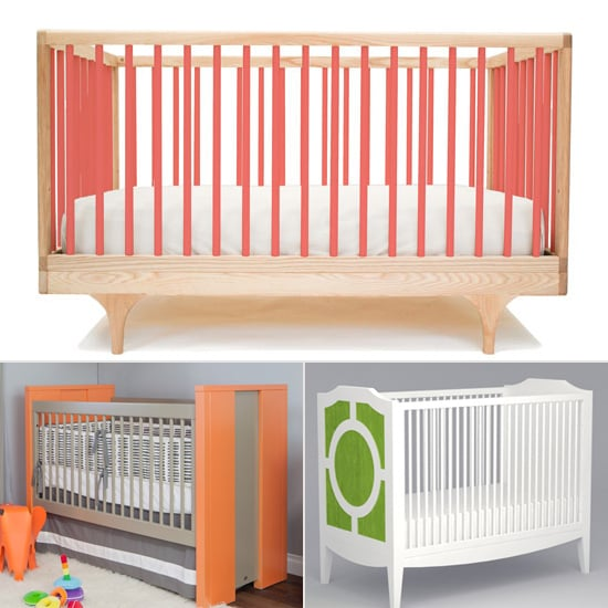 Brighten Up Your Baby's Space With a Colored Crib