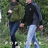 April: They Held Hands During a Sweet Stroll Through the English Countryside