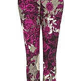 Topshop Oriental Floral Cigarette Trousers ($76)