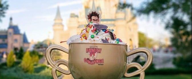 Vanellope's Ice Cream Sundae at Disney World