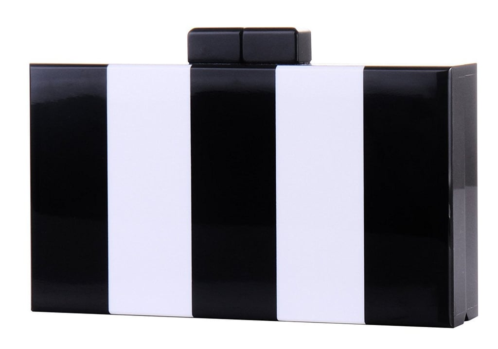 Black and White Acrylic Clutch
