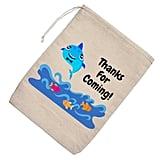 Baby Shark Muslin Favor Bags