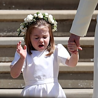 Princess Charlotte Sneezing at the Royal Wedding