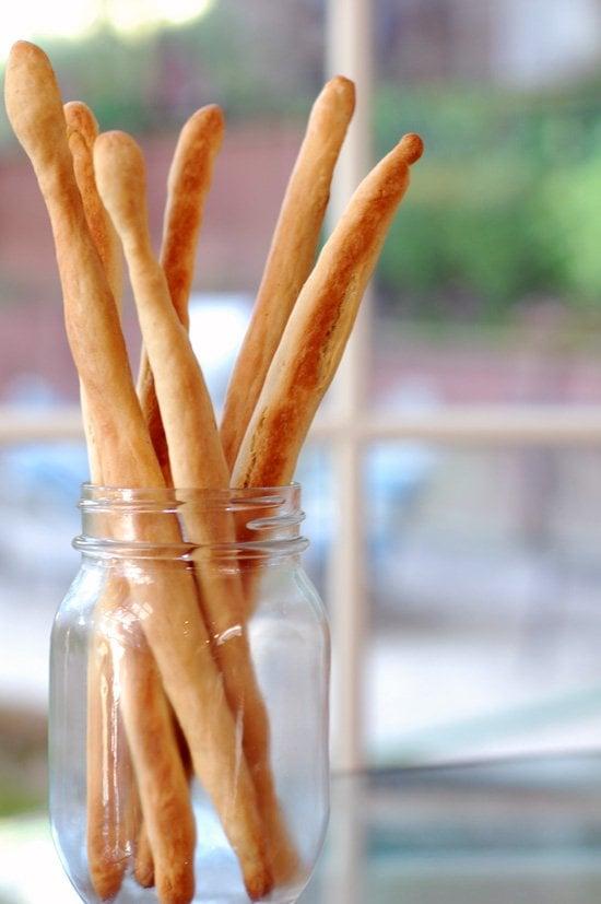 Appetizer: Easy Vegan Breadsticks