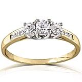 Kobelli Jewelry 3-Stone Engagement Ring