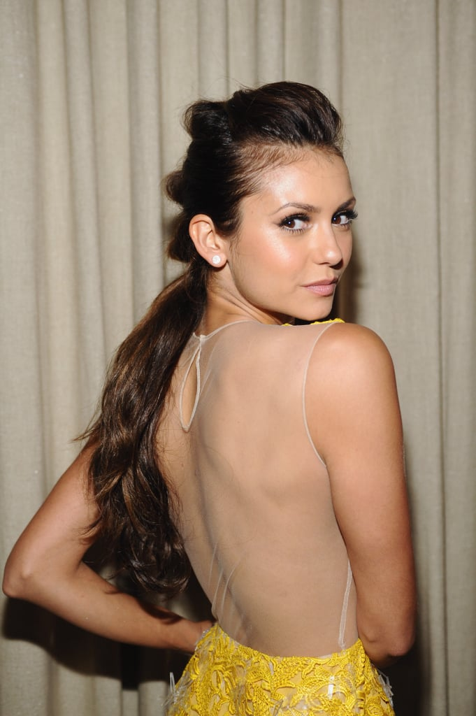 Bunched-Up Ponytail