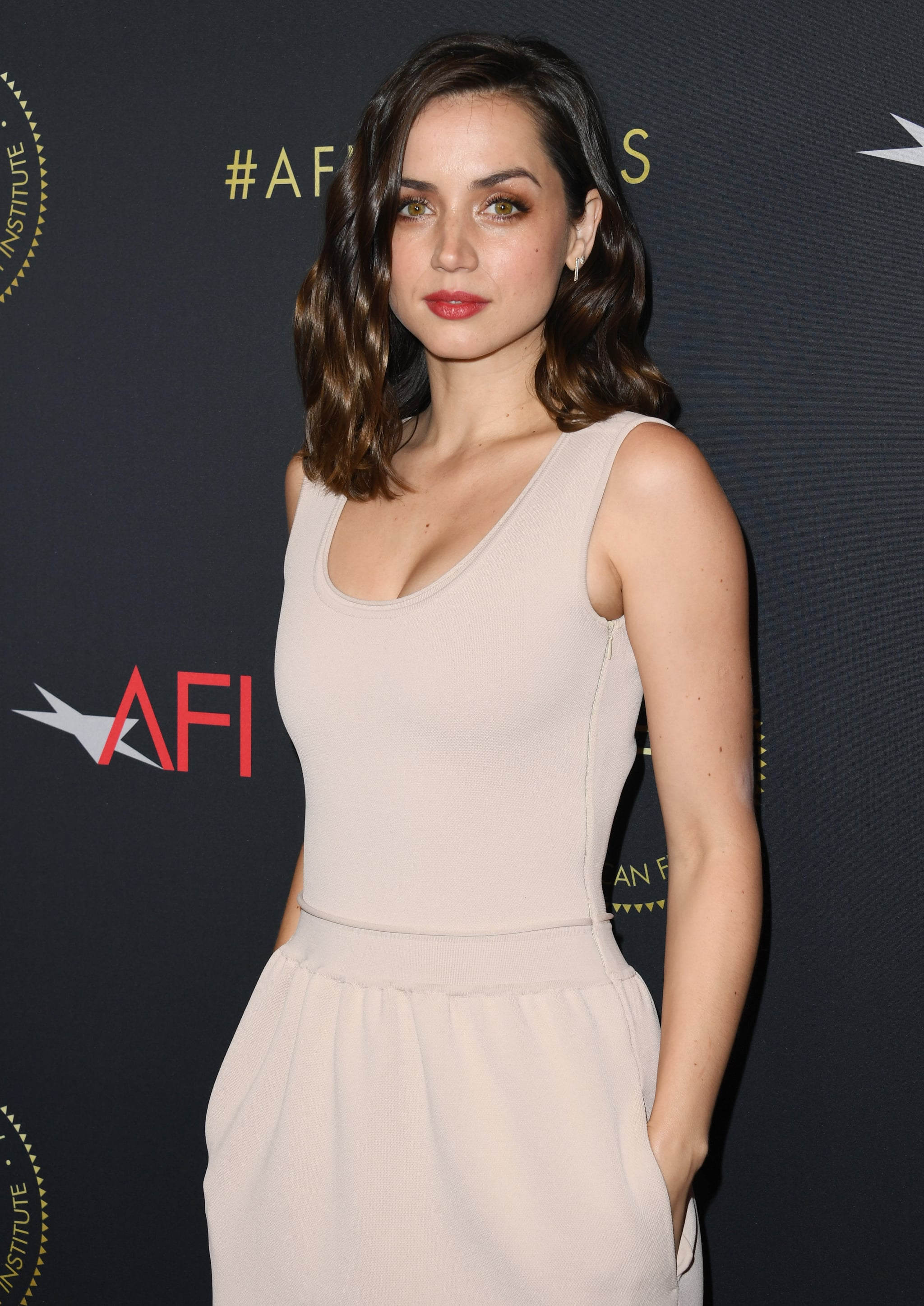 LOS ANGELES, CALIFORNIA - JANUARY 03:  Ana de Armas attends the 20th Annual AFI Awards at Four Seasons Hotel Los Angeles at Beverly Hills on January 03, 2020 in Los Angeles, California. (Photo by Jon Kopaloff/FilmMagic)