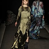 Jen Kao Puts Up a Psychedelic Collection Filled With Acid Rainbow Hues and Aquatic Fringe For Fall 2011