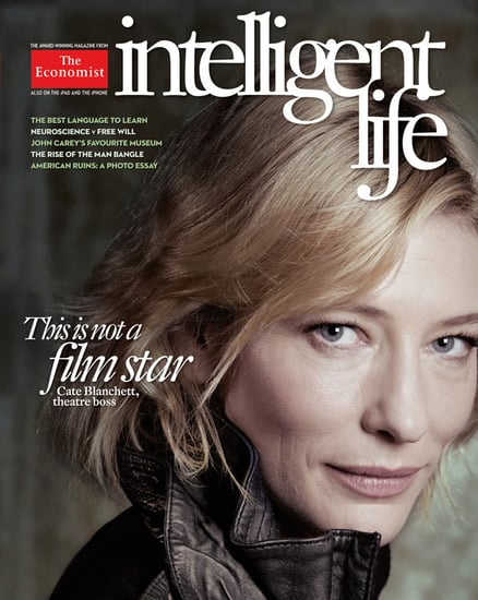 Cate Blanchett Skips Photoshop For Intelligent Life — The Economist