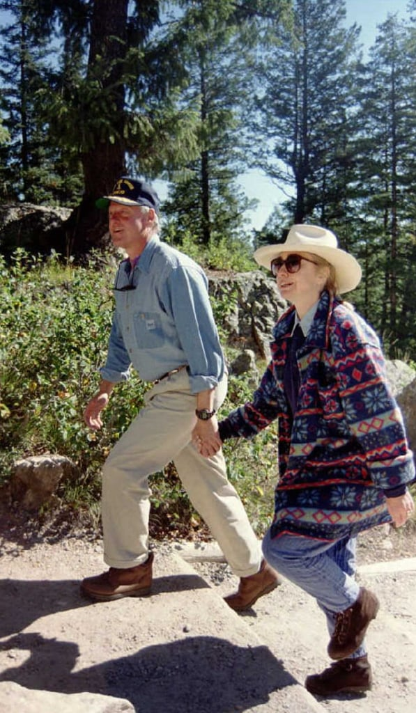 Hillary Clinton Wore This Patagonia Fleece During a Hiking Trip in 1995
