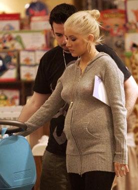 Sugar Bits — Christina Is Having a Boy!