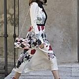 Valentina Siragusa at Milan Fashion Week Spring 2017