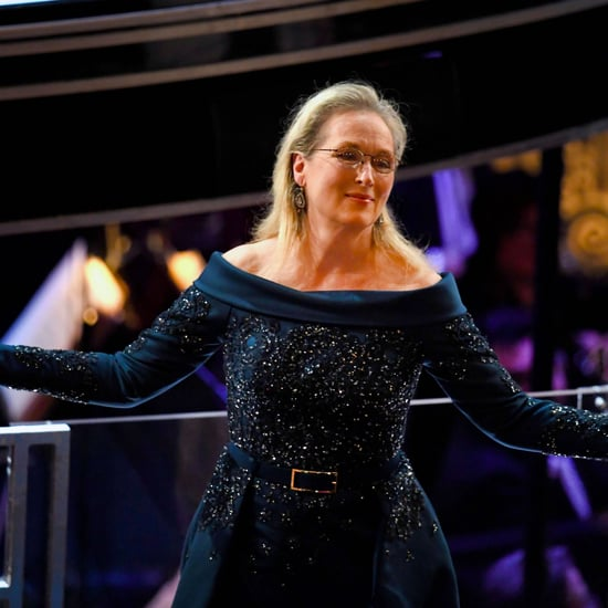 Meryl Streep Standing Ovation at the Oscars 2017