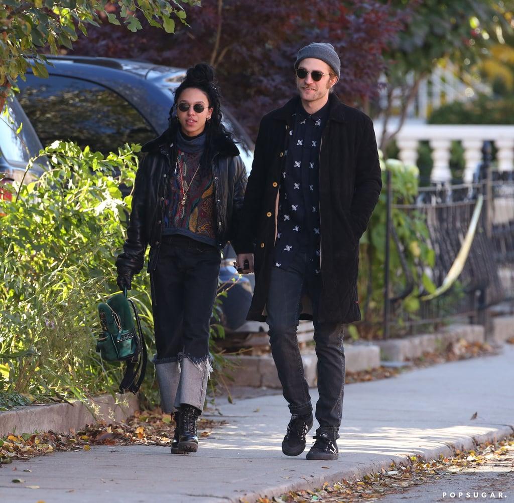 Robert Pattinson and FKA Twigs in Toronto   Photos