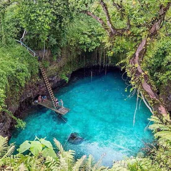 Swimming Hole in Samoa