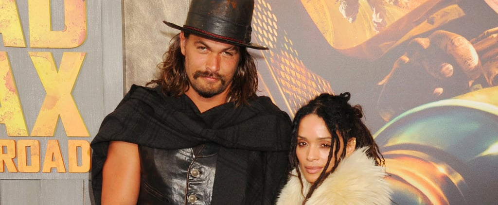 "Jason Momoa Jokes That He ""Kinda Stalked"" Wife Lisa Bonet Before They Met"