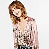 Zara Printed Bodysuit ($40)