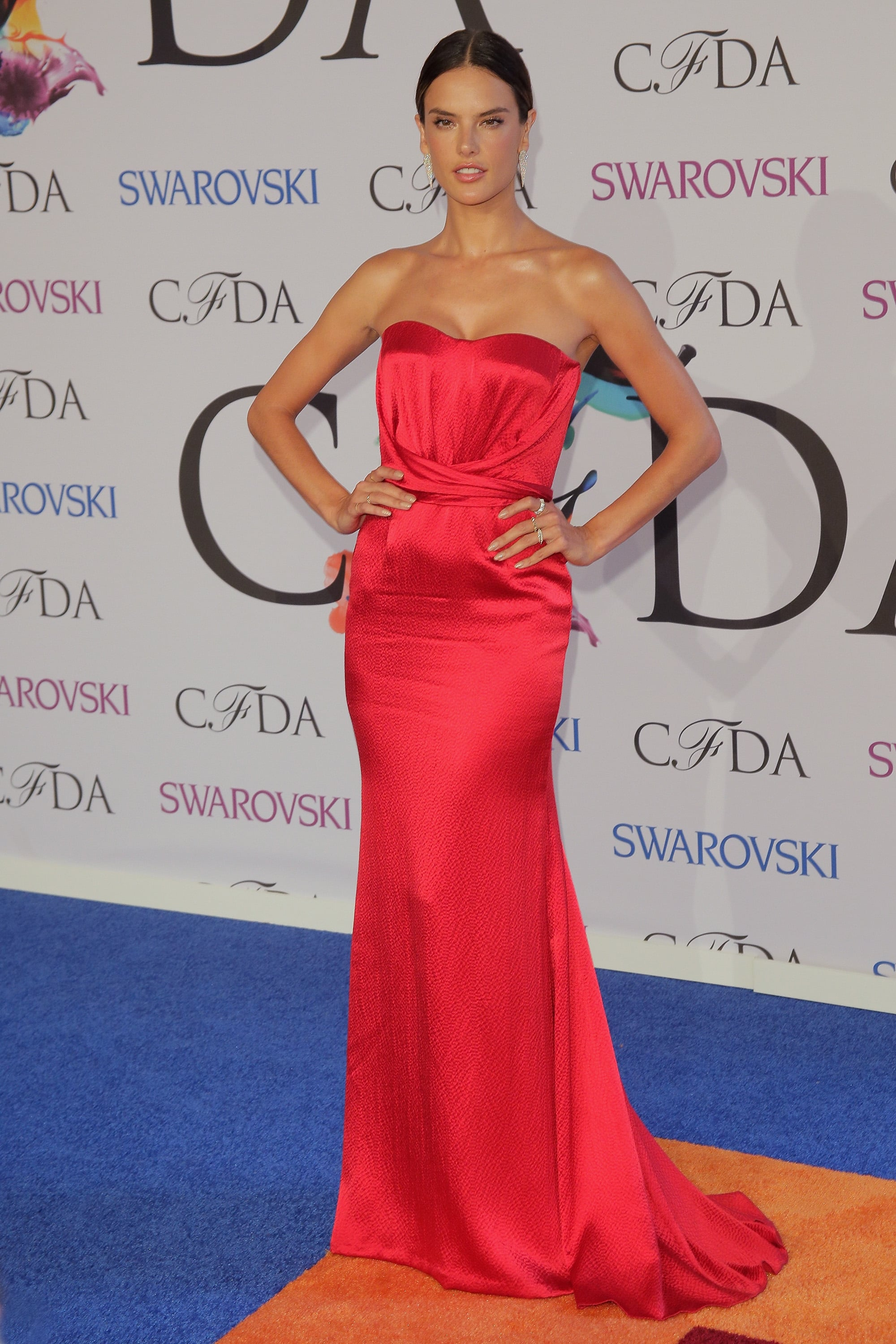 Alessandra Ambrosio at the 2014 CFDA Awards