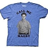 Call Me Maeby tee ($6)