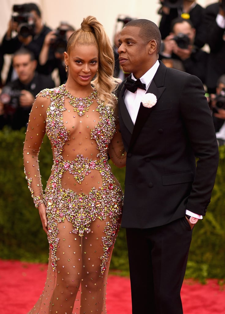 Beyonce Knowles at the Met Gala 2015