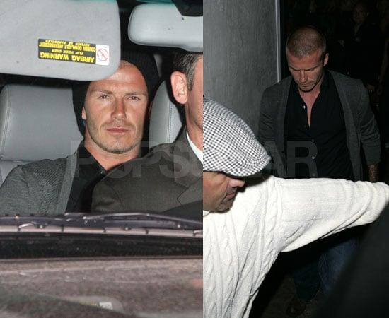 David Beckham One Man Night on the Town