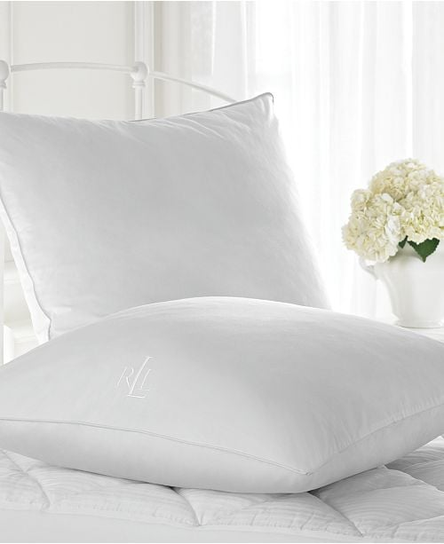 "Lauren Ralph Lauren Classic 26"" Square European Down Alternative Pillow"
