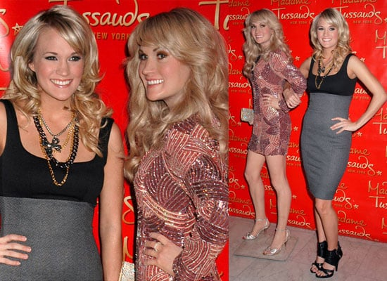 Photos of Carrie Underwood's Waxwork at Madame Tussauds New York
